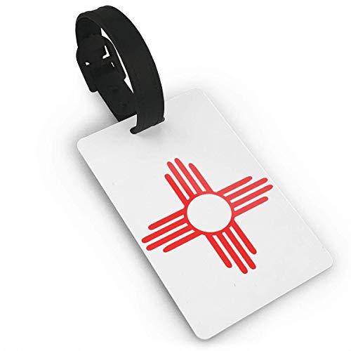 shenguang Nuevo México Sun Zia Símbolo Indio Etiquetas para Bolsas de Equipaje Etiquetas de Viaje Etiqueta de identificación de Viaje