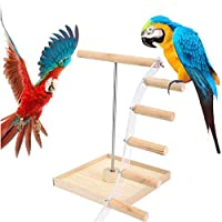 【塗料不使用の安心木製】鳥 止まり木 はしご Champion crafts インコ おもちゃ 小鳥 木製 鳥 ケージスタンド 玩具 ストレス解消 運動不足対応 アクセサリー