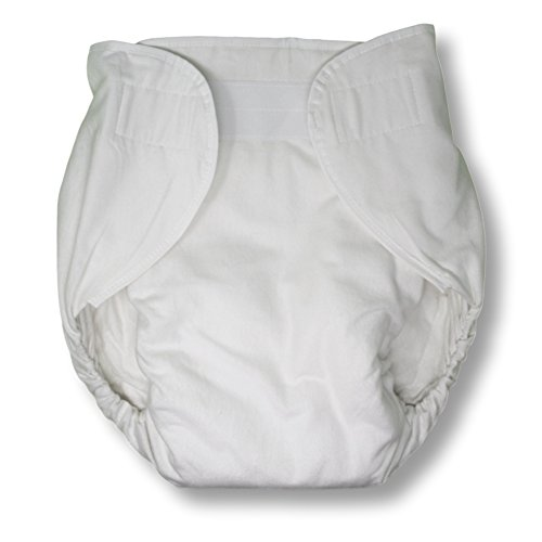 Rearz - Omutsu Bulky Fitted Nighttime Cloth Diaper (White) (Large/X-Large)