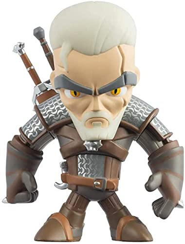 LPJPCR The Wiccher 3: Figura de acción de Caza Salvaje Geralt of Rivia Figura PVC Coleccionista Modelo de Regalo de Juguete para Adolescentes y fanáticos de Juegos de Recuerdos