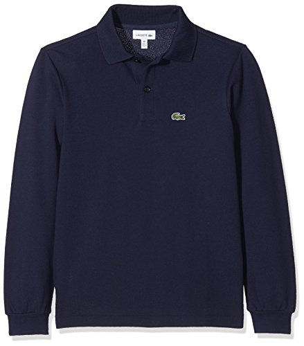 Lacoste Jungen PJ8915 Poloshirt, Blau (Marine), 3 Jahre (Herstellergröße: 3A)