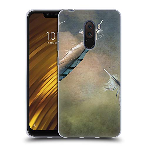 Head Case Designs Offizielle Brenda Erickson Erdgebundenes Kissen Künste Soft Gel Huelle kompatibel mit Xiaomi Pocophone F1 / Poco F1