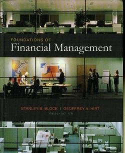 Foundations of Financial Mgmt