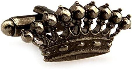 Royal Family Crown Cufflinks Bronze Nine Kingdoms Point Crown Cuff Links