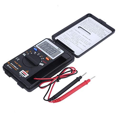 Alta confiabilidad Indicación de batería baja Multímetro de frecuencia digital Herramienta de prueba de mano Multímetro profesional con pantalla LCD para el hogar