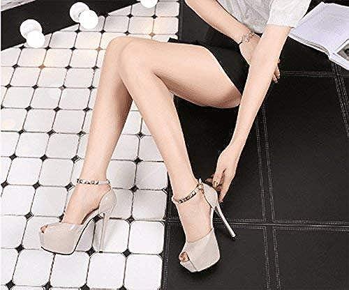 FUWUX FUWUX Tongs Femme d'été Noeud Papillon Talon Haut Fine avec (Couleur   blanc, Taille   6 US 36 EU 3.5 UK)  100% garantie de prix