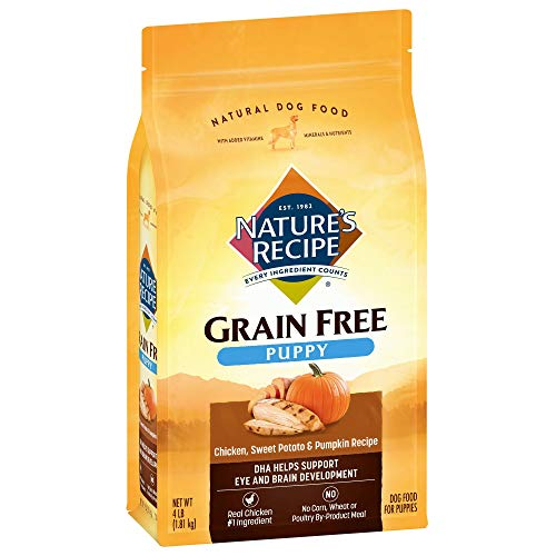 Nature's Recipe Grain-Free Dry Dog Food Chicken, Sweet Potato & Pumpkin Recipe