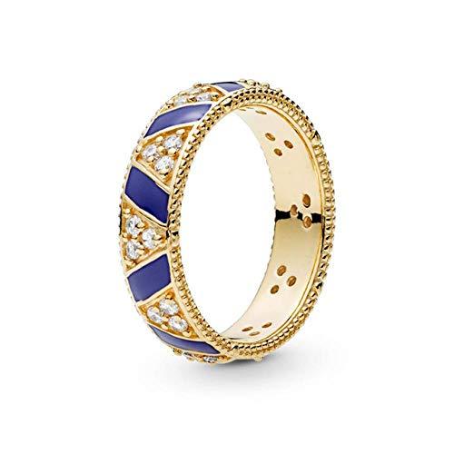SUNMM Delicate en glamoureuze kristallen heldere zirkonia ring voor dames sieraden accessoires geschenk sieraden, 6, bleke roze grijs