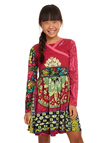 Desigual Dress GUINARDÓ Vestido, Rosa (Rosa Glamour 3044), 4 años para Niñas