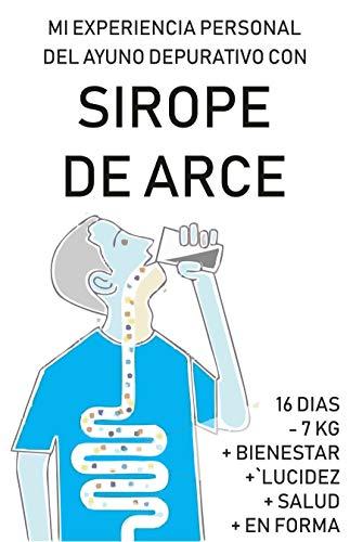 SIROPE DE ARCE. MI EXPERIENCIA PERSONAL DURANTE UN MES: El proceso de ayuno depurativo con sirope de arce detallado día a día con toda la información sobre sus fases, molestias y mejoras en 30 días.