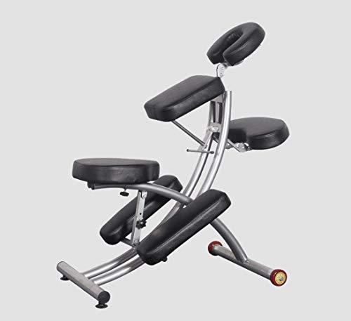 Guoz Deluxe tragbare Massagesessel -Lightweight, faltbar Tattoo Spa Massage-Stuhl mit Rollen Moderne Schönheitssalon Möbel