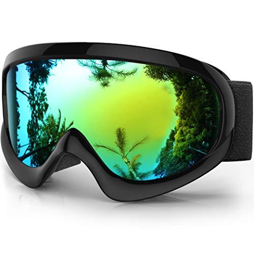 findway K2 Skibrille Snowboardbrille Kinder - Ski Snowboard Brille Brillenträger Schneebrille...