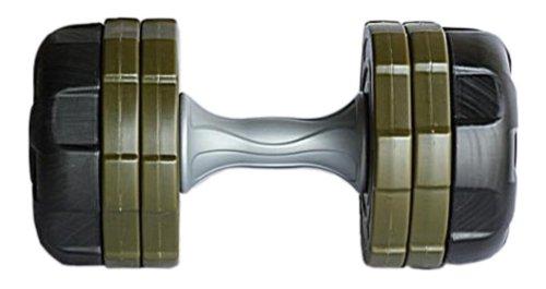 Ultrasport Anti-Roll Hantelset 20 kg - Sicherheitshantel mit eckigem Design, Kurzhantelset für Frauen und Männer, 14-teiliges Hantelscheiben Set, vielfältig nutzbar von 1,2 bis 10 kg