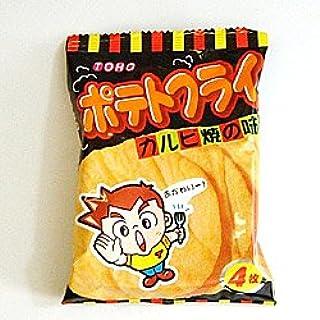 東豊製菓 ポテトフライ カルビ焼き味 20個入り