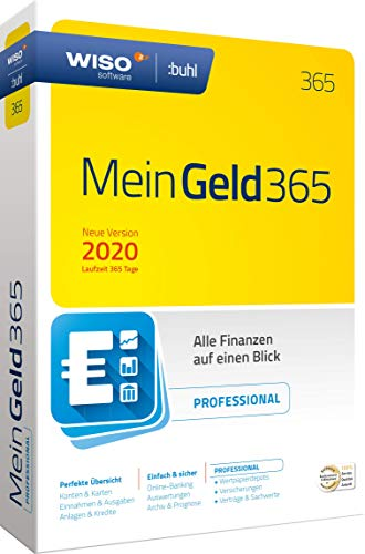 WISO Mein Geld Professional 365 (aktuelle Version 2020) (WISO Software) Disc in...