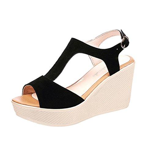 Sandalias con plataforma tipo peep Toes