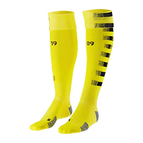 Puma Borussia Dortmund Stutzen Team Graphic Replica 2020/21 757185 Cyber Yellow-Puma Black 40-42