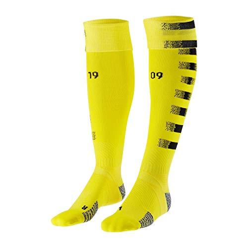 Puma Borussia Dortmund Stutzen Team Graphic Replica 2020/21 757185 Cyber Yellow-Puma Black 43-45