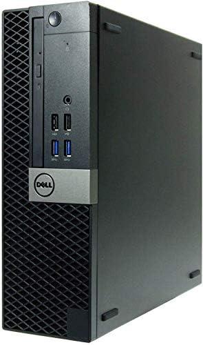 DELL OptiPlex 7050 SFF High Performance Business Desktop Computer, Intel Quad Core i5-6500 up to 3.6GHz, 8GB DDR4, 256GB SSD, WiFi, Optical Drive, HDMI, Windows 10 Professional (Renewed)