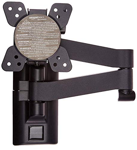 AmazonBasics Articulating TV Wall Mount Bracket for 12-inch to 39-inch TVs