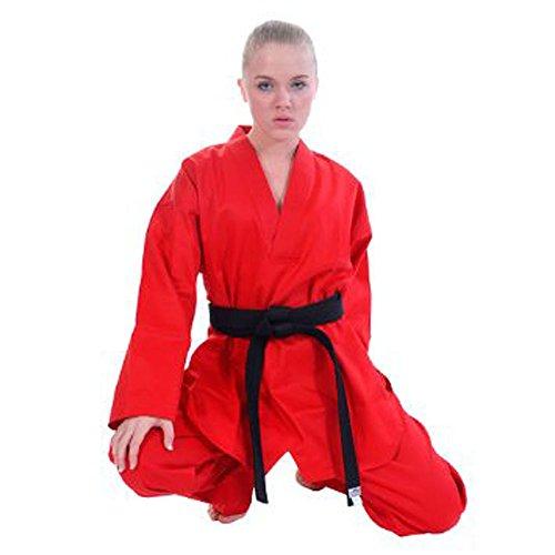 Tiger Claw Karateanzug für Schüler, 19,1 g, Herren, rot, Size 6 (6'0