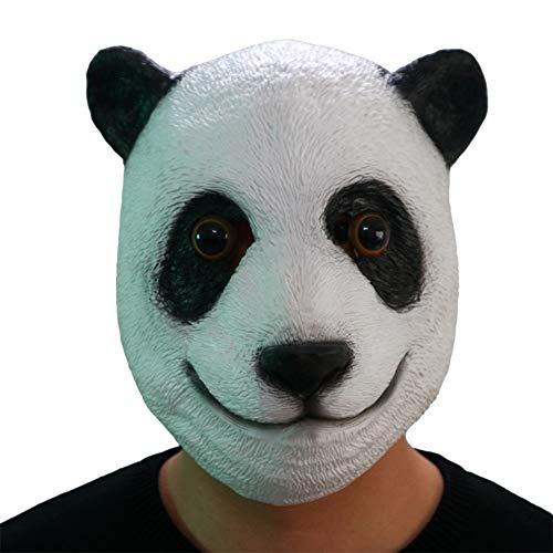 Grappige Panda Masker Halloween Cosplay Horror Volgelaats Scary Movie Character Volwassenen Kostuum Props Toy, Masquerade/Party/Ball Prom/Mardi Gras