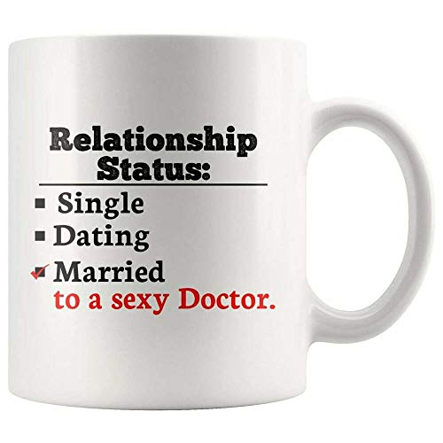 Divertida taza de café, taza de doctor, regalo de médico, taza para futuro médico, regalo para mejor médico, taza de té, taza de café, taza de café de 12 onzas, regalo para mujeres y hombres