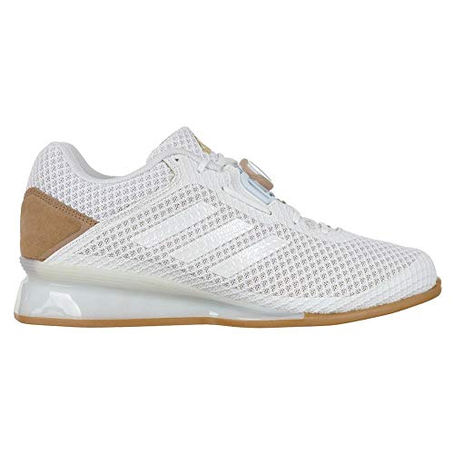 adidas Leistung 16 II Men's Weightlifting Trainer Shoes White UK Size 10.5
