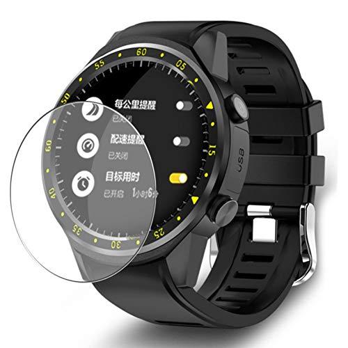 Vaxson 3 Stück Schutzfolie, kompatibel mit Smartwatch smart watch F1, Displayschutzfolie Bildschirmschutz Blasenfreies TPU Folie [nicht Panzerglas]