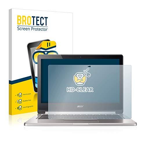 BROTECT Schutzfolie kompatibel mit Acer Chromebook R13 klare Bildschirmschutz-Folie