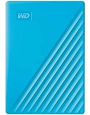 WD 2TB My Passport Taşınabilir Harici Hard Disk, Mavi, BYVG0020BBL, WESN
