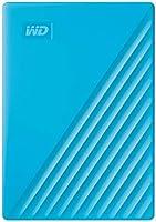 WD 4TB My Passport Portable External Hard Drive HDD, USB 3.0, USB 2.0 Compatible, Blue - WDBPKJ0040BBL-WESN
