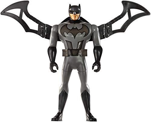 Mattel FFM04 - DC Justice League Deluxe Battle-Flügel Batman, 30 cm mit Lights & Sounds