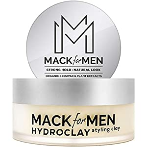Beauty Shopping HydroClay Premium Hair Clay for Men, Styling Clay with Organic Beeswax for Hair,