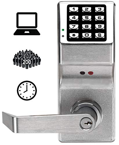 Alarm Lock Systems Inc. DL2800 US26D Trilogy Digital Lock Cylindrical Kil 26D, Satin Chrome