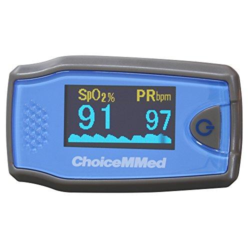Oxímetro de pulso de dedo MD300C5 para niños.