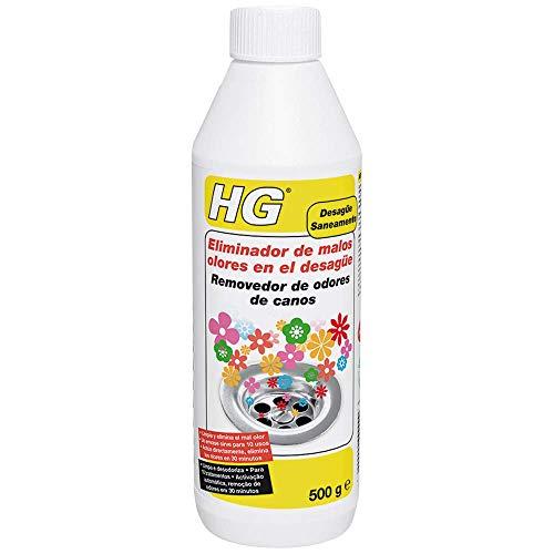 HG 624050130 Eliminador de malos olores (desagüe 0.5l), 500 Ml