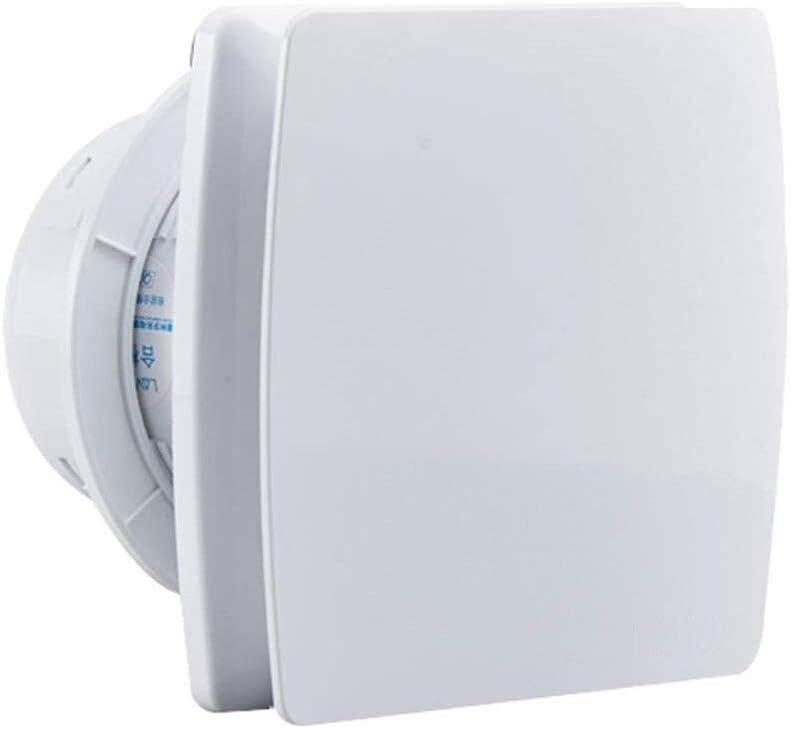 Ventiladores Extractor de Aire Ventilación ventilador de pared, baño cocina extractor de humos de escape, Potente bajo nivel de ruido del ventilador de escape de la pared, con el bisel trasero, conven