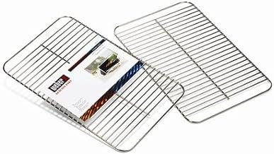 Weber 8408 Accesorio de Barbacoa/Grill al Aire Libre Grid - Accesorios de Barbacoa/Grill al Aire Libre (Grid, Acero Inoxidable, Cromo, 220 mm, 400 mm, 1 Pieza(s))