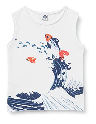 Tuc Tuc Punto KAMOGAWA Camiseta sin Mangas para bebés y niños pequeños,...