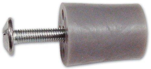 Tappo di Arresto in Nylon per Avvolgibili misura 30 mm Grigio 10pz