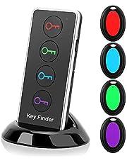 Draadloze Key Finder 100Db Hoge Decibel Key Locator met LED Zaklamp Geschikt voor Key Wallet Bril