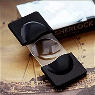 Aquaman Store Figurines & Miniatures - Mini Detective Sherlock Loupe Magnifier Magnifying Glass Holmes Benedict Cumberbatch Doctor Strange Foldable Reading Glass Lens 1 PCs