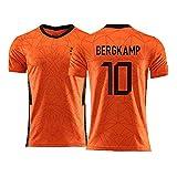 YUUY Dennis Bergkamp # 10 Chaleco de la Camiseta de los Hombres de la Juventud...