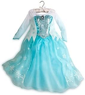 Disney Store Frozen Elsa Dress Costume Size 5/6
