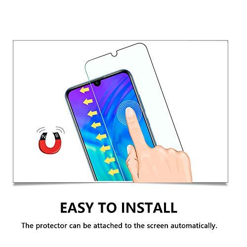 Widamin 2Pack, Panzerglas Schutzfolie für Honor 20 Lite, Displayschutzfolie, Hohe Auflösung Glas, [9H Härte], [Crystal Clearity], [No-Bubble] Compatible für Huawei Honor 20 Lite - 5