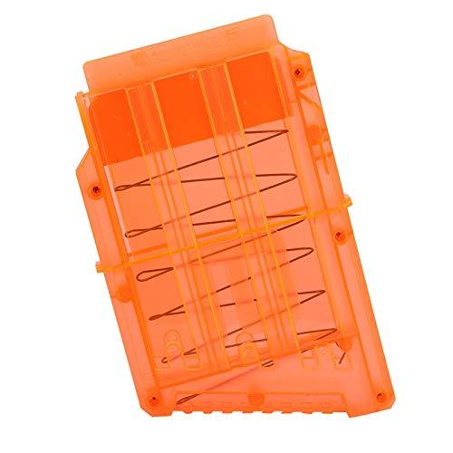 QITERSTAR Bullet Clips Clip de Revista Quick Reload Mega Magazine Clip Toy Gun Carrier Soft Bullets Storage for Cartridge