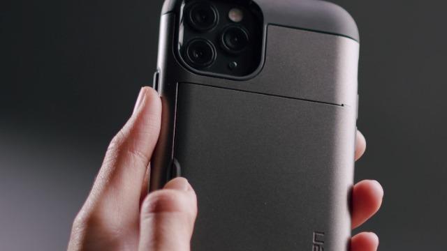 Spigen Slim Armor CS Designed for iPhone 11 Case (2019) - Gunmetal