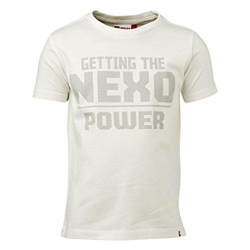 Lego Wear Jungen Lego Nexo Knight Tony 602 T-Shirt, Weiß (Off White 102), 116