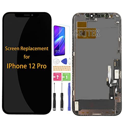 Para IPhone 12 pro pantalla LCD piezas de repuesto para A2407 A2341 A2406 A2408 pantalla táctil sensor digitalizador asmebly con kits